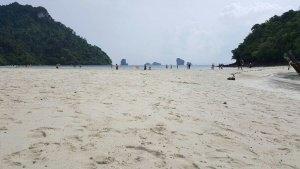 picture of Thale waek sand bar near poda island krabi