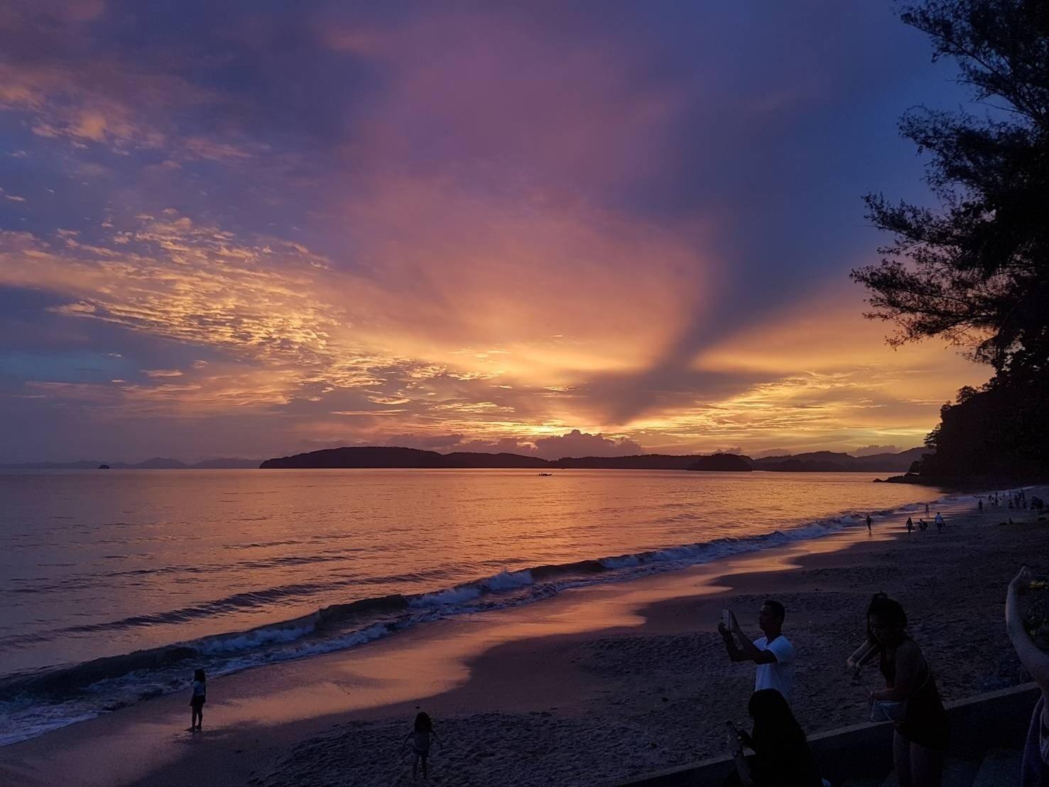 private sunset photo krabi islands